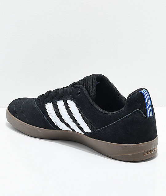 adidas Suciu ADV II Black, White & Gum Shoes