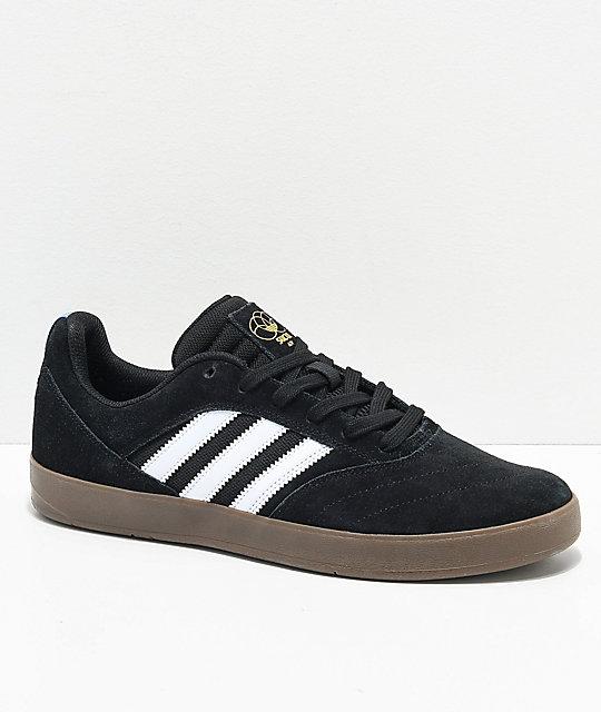 adidas Suciu ADV II Black, White & Gum Shoes