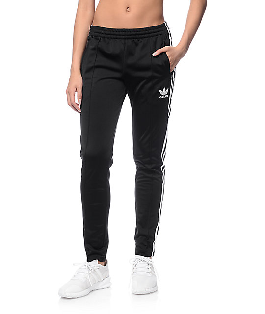 ADIDAS Supergirl Womens Track Pants Black | Track pants