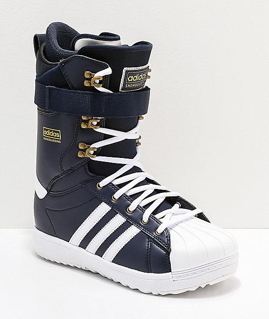 adidas Superstar ADV Navy Snowboard Boots 2019  d94d1f153ace