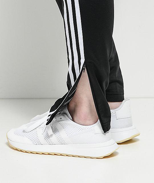 adidas zip leg pants