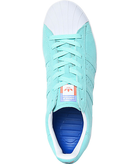 f6c9aa7c3422 ... adidas Superstar Vulc ADV Pastel Blue Shoes ...
