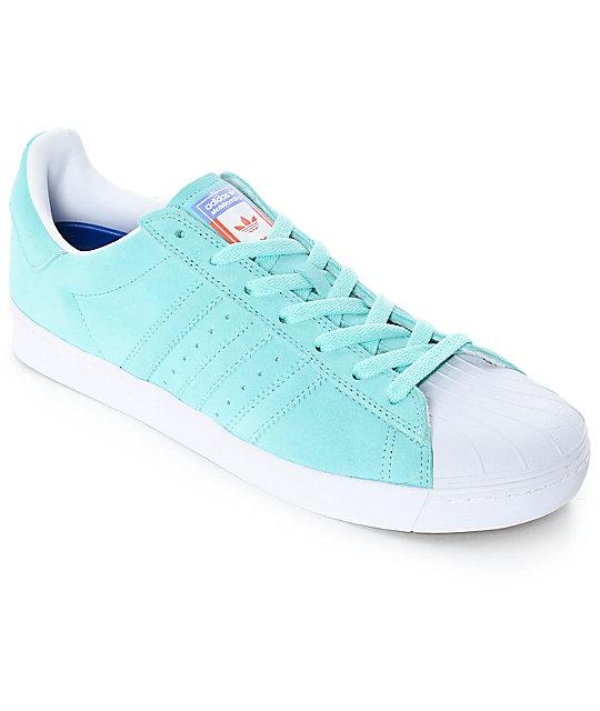 adidas Superstar Vulc ADV Pastel Blue Shoes