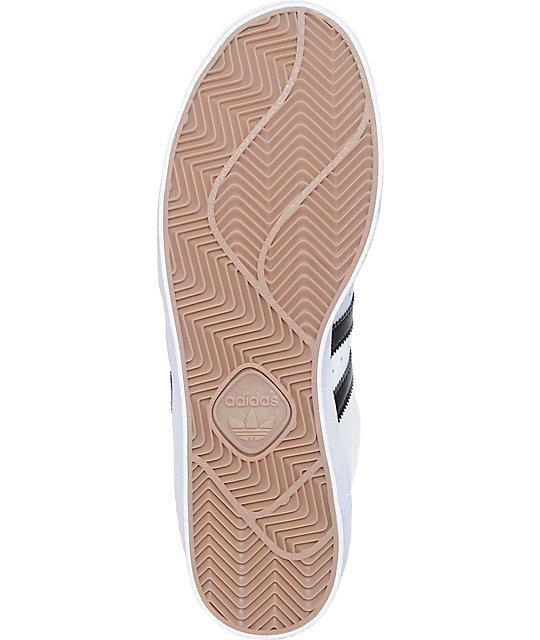 separation shoes d0192 0c9f2 ... adidas Superstar Vulc Mid zapatos en blanco y negro ...