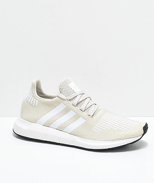 954a6552d2151 adidas Swift Clear Brown   White Shoes