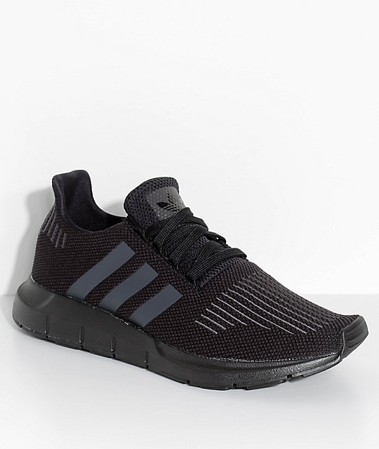 adidas Swift Run Core & Utility Black Shoes ...