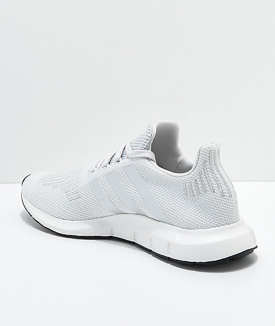 adidas Swift Run Grey & Silver Shoes