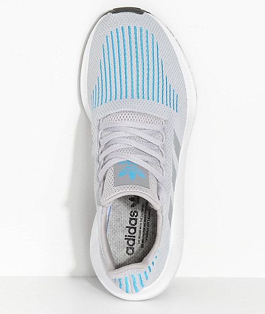 adidas Swift Run Mystery Energy White & Blue Shoes