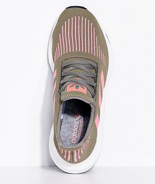 79daf8441fc40 ... adidas Swift Run Trace Cargo   Pink Shoes ...