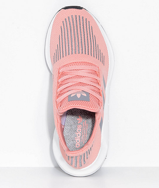 1f3e98e7d5ce5 ... adidas Swift Run Trace Pink   Grey Shoes ...