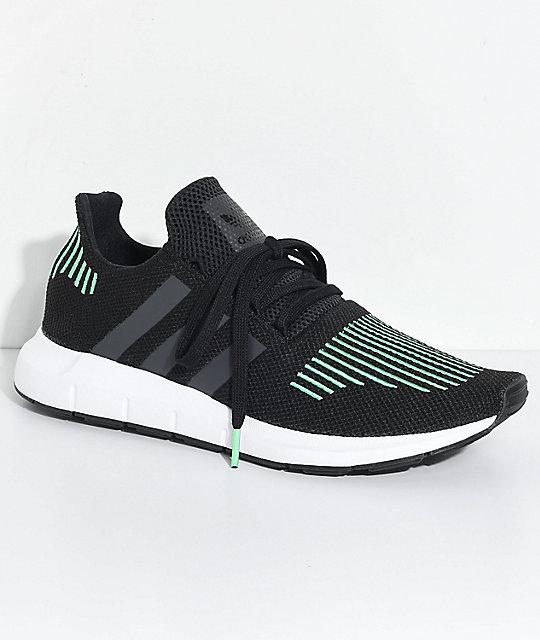 b7b54da7c31 adidas Swift Run Utility Black & White Shoes