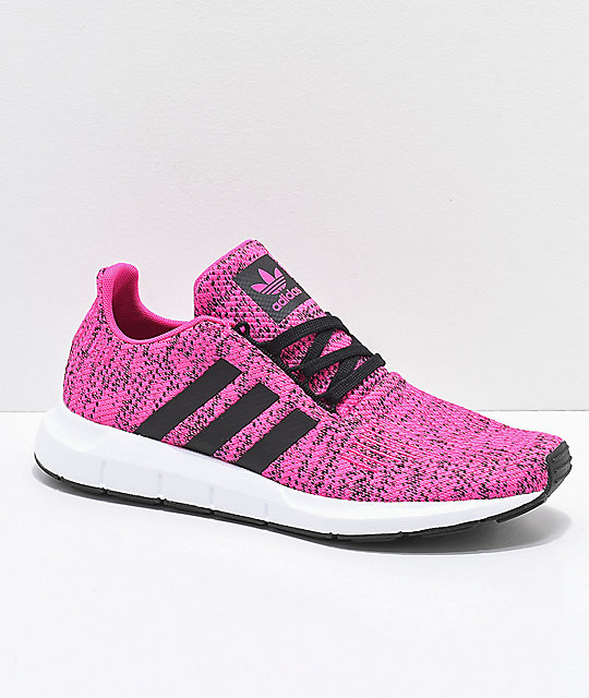 adidas Swift Shock Pink & Core Black Shoes