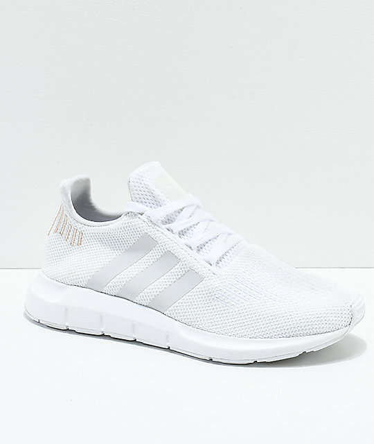 e7d1bf82c adidas Swift White   Rose Gold Shoes