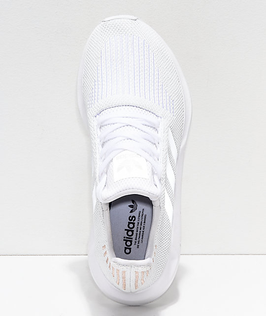 adidas Swift White & Rose Gold Shoes