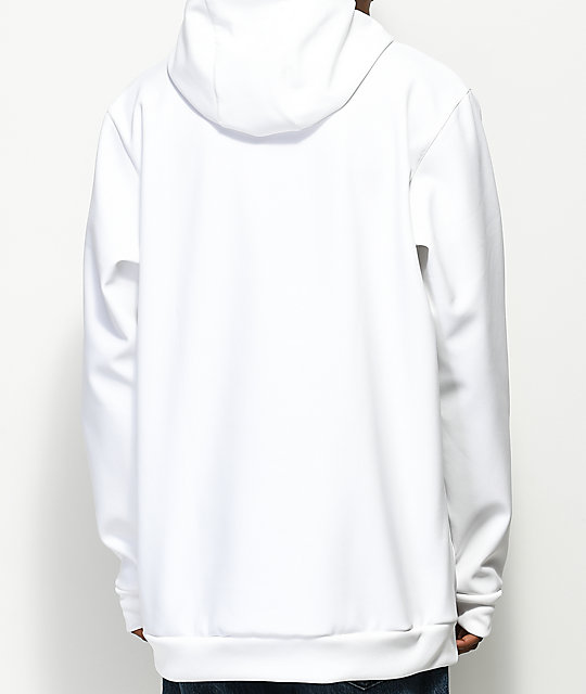 38f5e56b0576 ... adidas Team Tech Fleece White Hoodie ...