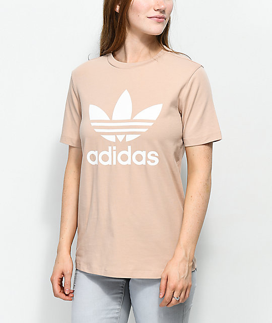Adiddas Women's Ribbed Tee (White | Black)