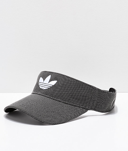 adidas Trefoil Plus Black Dot Visor