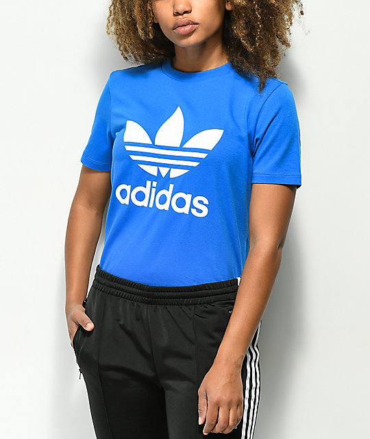 sneakers for cheap official supplier uk cheap sale adidas Trefoil Royal Blue T-Shirt