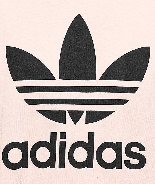 7e5717a6bdc61 ... adidas Trefoil Vapour Pink T-Shirt
