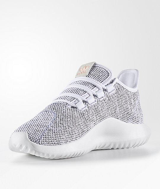 premium selection 67ad3 7ff63 adidas Tubular Shadow FTWR Knit Shoes