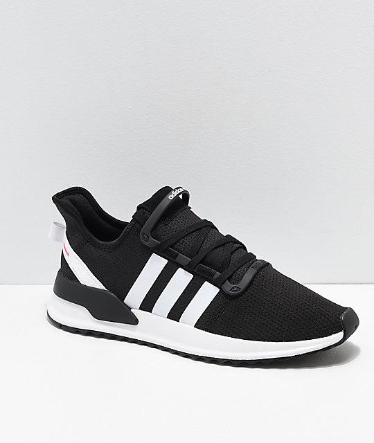 online store 0e463 fded4 adidas U Path Run Ash Black   White Shoes   Zumiez