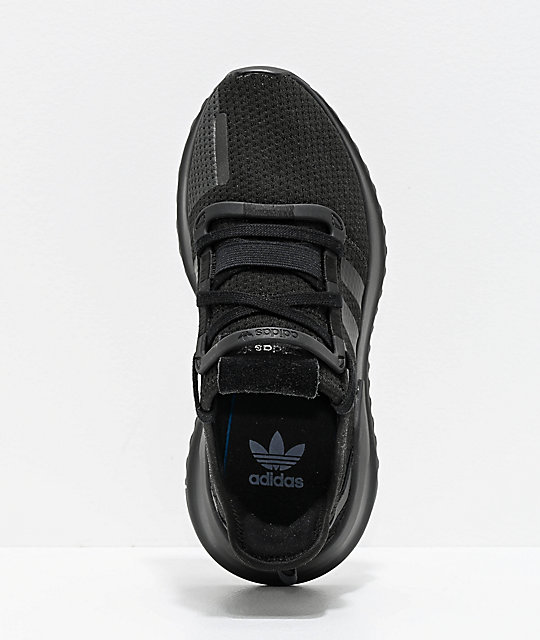 79ef77e20 ... adidas U Path Run Black   Black Shoes ...