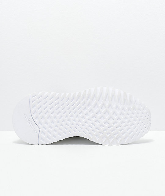 adidas U Path Run White Shoes