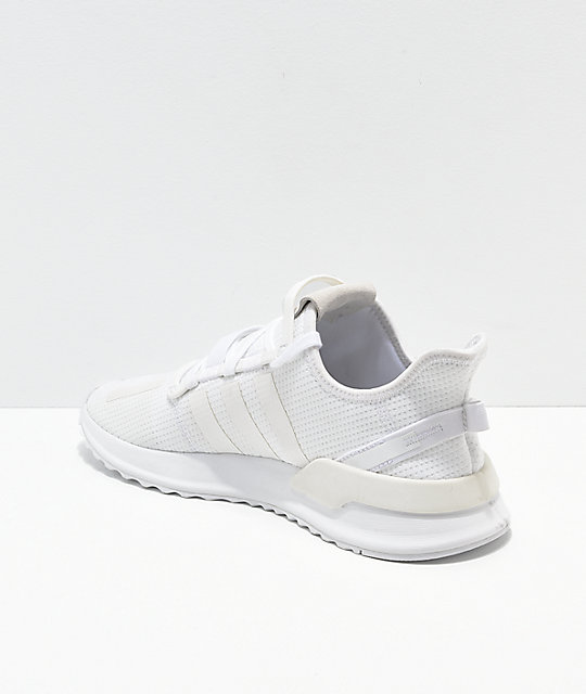adidas U Path Run zapatos blancos
