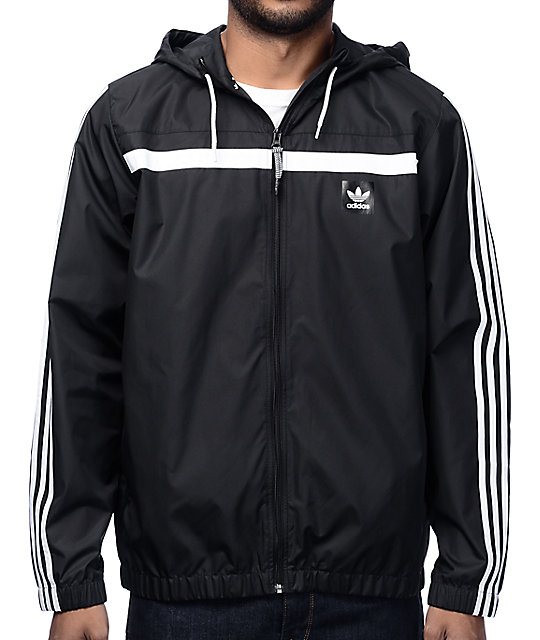 6d915dcb4 adidas Windbreaker 2 Black Jacket