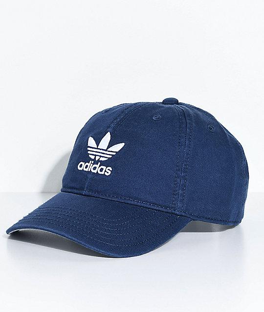 2f48ea6eb72 adidas Women s Navy Strapback Hat