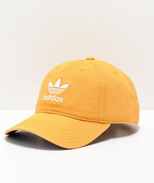 8e0cb12ae8813 adidas Women s Original Chalk Orange   White Strapback Hat