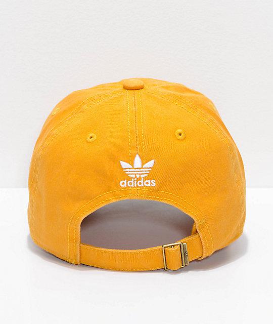 ... adidas Women s Original Trace Yellow Strapback Hat ... 87e21726819