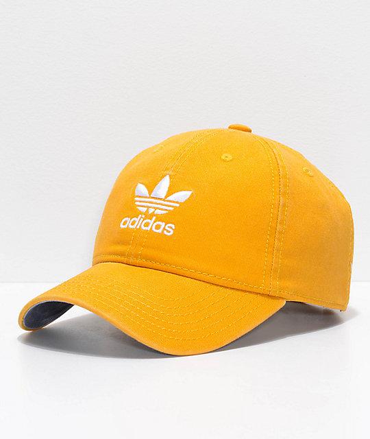 adidas Women s Original Trace Yellow Strapback Hat  31ad4ee423c