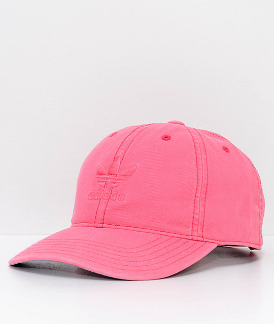 adidas Women's Relaxed Chalk Pink Strapback Hat