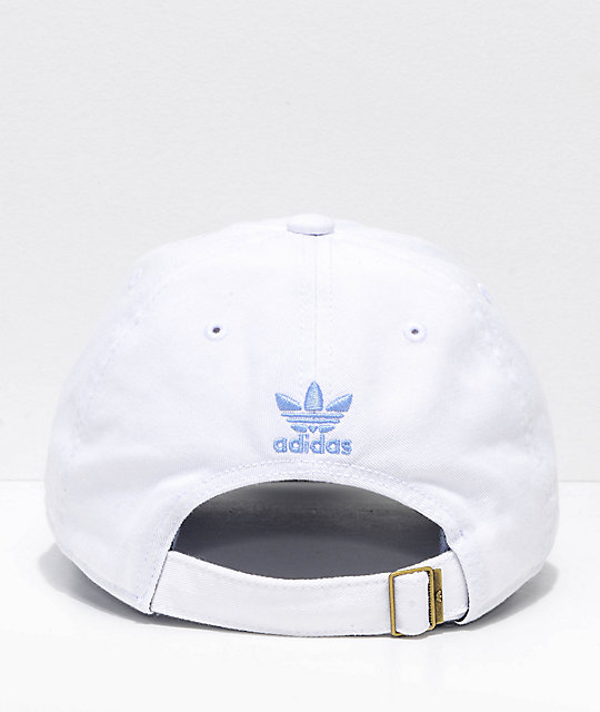 adidas Women's Relaxed Chalk White Strapback Hat