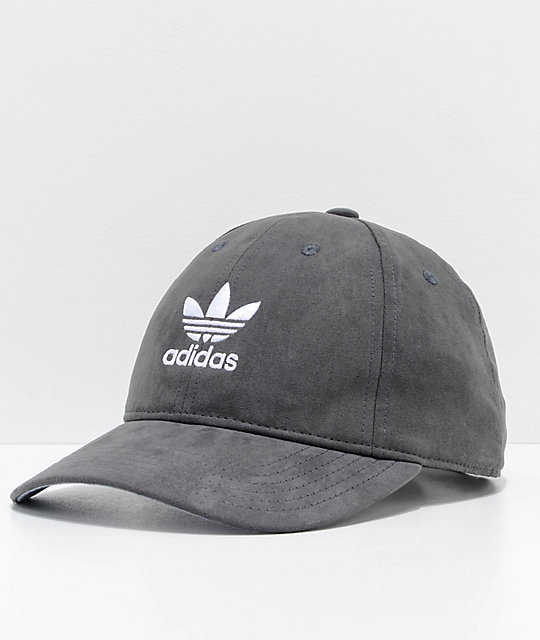 338c7480f7b79 adidas Women s Relaxed Plus Black Strapback Hat