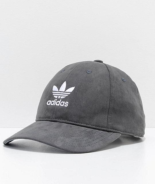4b367da6 adidas Women's Relaxed Plus Black Strapback Hat