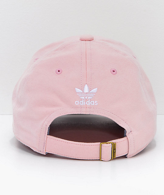 ... adidas Women s Relaxed Plus Blush Pink Strapback Hat ... 0dc35116c