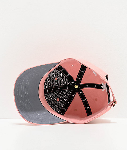 adidas Women's Spirit Relaxed Pink Strapback Hat