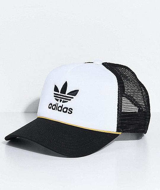fc958cb5c74c0 adidas Women s White   Black Trucker Hat