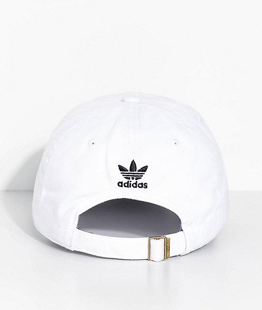 83a07a2563 adidas Women's White Strapback Hat