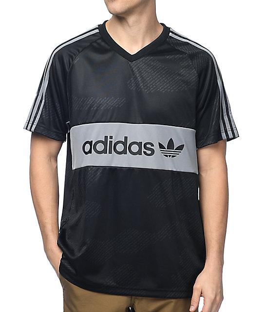 a13fa124f248e Ropa para equipos de futbol Camiseta adidas Toque 13 ML Z20279 Amarillo  Negro jersey adidas negro