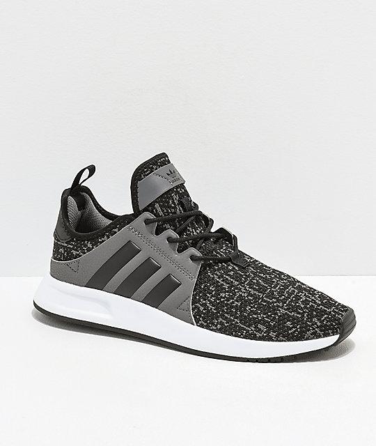 Adidas Xplorer Black, Grey &Amp; White Shoes by Adidas