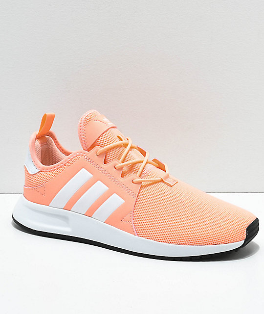 adidas Xplorer Clear Orange & White Shoes