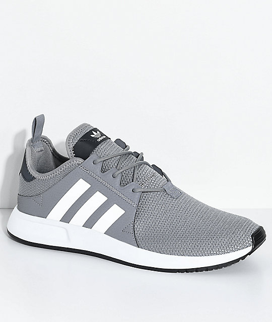 8e96a977db97 adidas Xplorer Grey   White Shoes