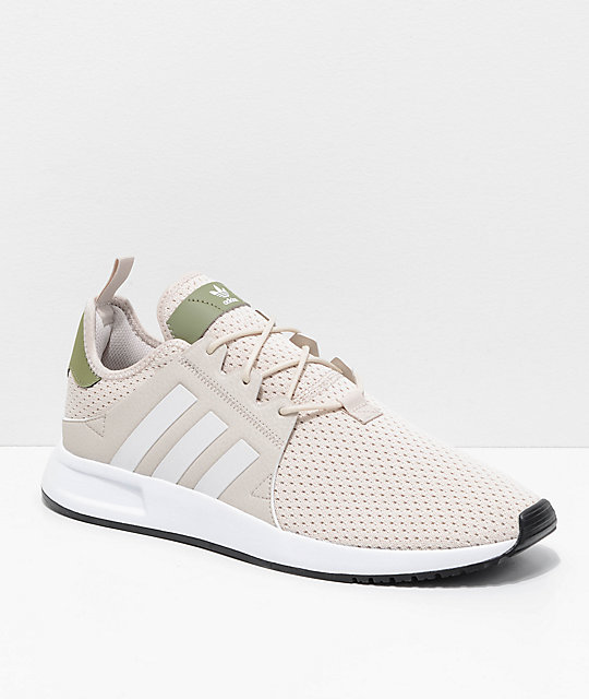 dca79b4e81c7 adidas Xplorer Light Brown, Green & White Shoes