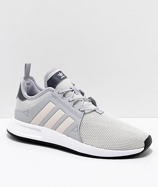 f8b88e3f55e69 adidas Xplorer zapatos en gris y rosa ...