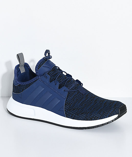 adidas Youth Xplorer Dark Blue Shoes ...