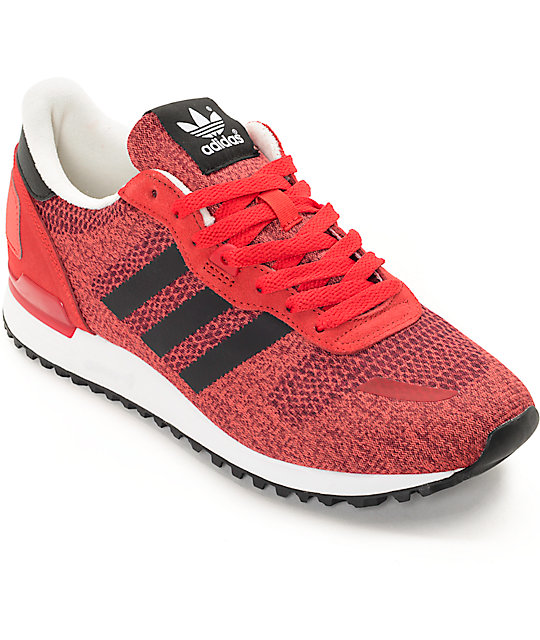 purchase cheap 71098 a93f0 adidas ZX 700 IM Red, Black,   White Shoes   Zumiez