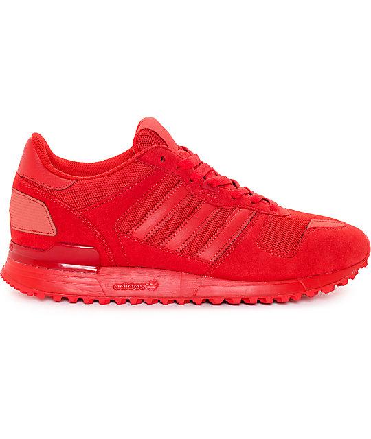 079e7eb9bc13 ... adidas ZX 700 Mono Red Shoes